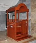 Mimbar Masjid Minimalis Atap Kubah Kode ( MM 003 )