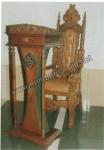 Podium Mimbar Kayu Jati Jepara Kode ( MM 052 )