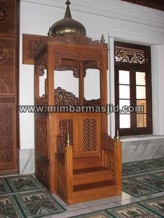Mimbar Masjid Agung Jepara