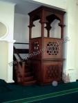 Mimbar Masjid Minimalis Tangga Samping Kode ( MM 007 )
