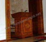 Mimbar Masjid Ukir Model Podium Kode ( MM 060 )