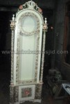 Jam Hias Duco Putih Ulir Kode ( MM 161 )